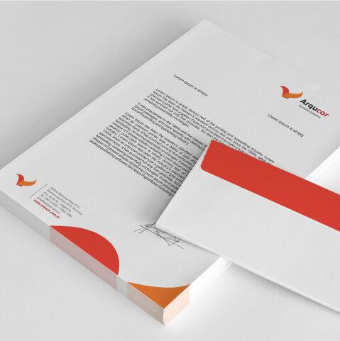 Imprimir papel con membrete empresa personalizado