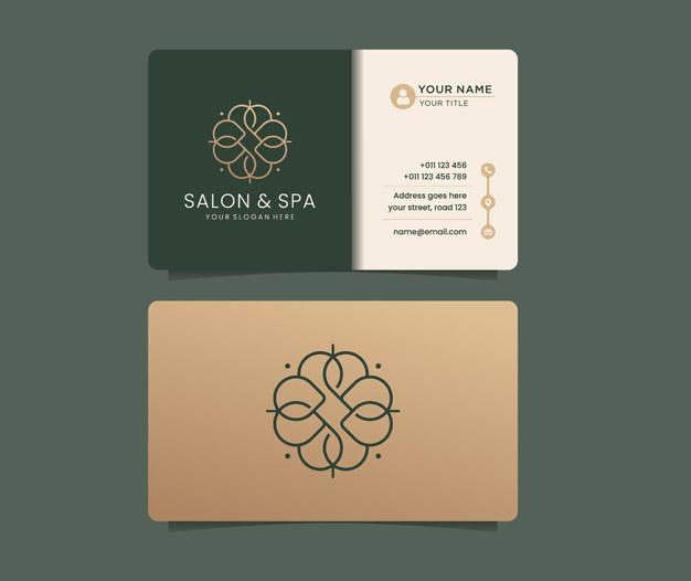 Planitlla de tarjetas para spa
