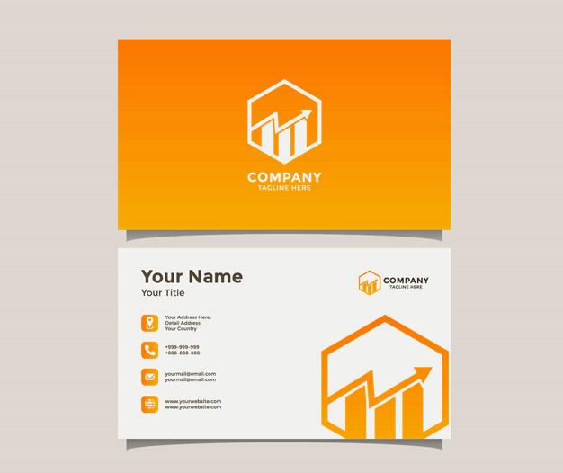 Plantilla de diseño para Tarjetas de negocios de contable