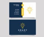 Plantilla de diseño para tarjetas de informatica