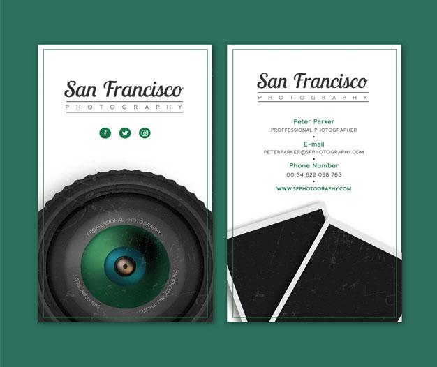 Tarjetas de presentación Fotógrafos, Tarjetas Fotógrafos