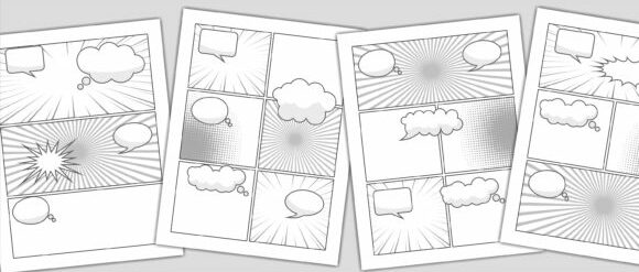Plantilla para comic