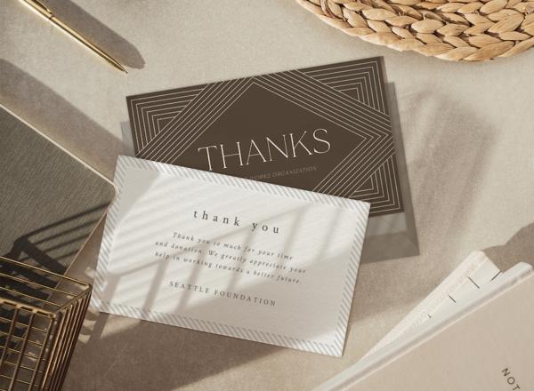 Postales de agradecimiento