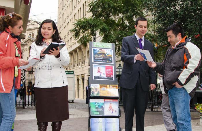 Predicar folletos imprenta religiosa