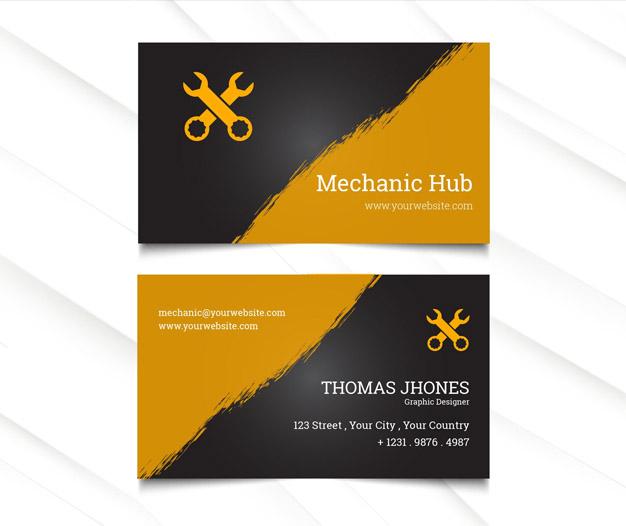 Taller de mecanica reparacion de coches tarjetas