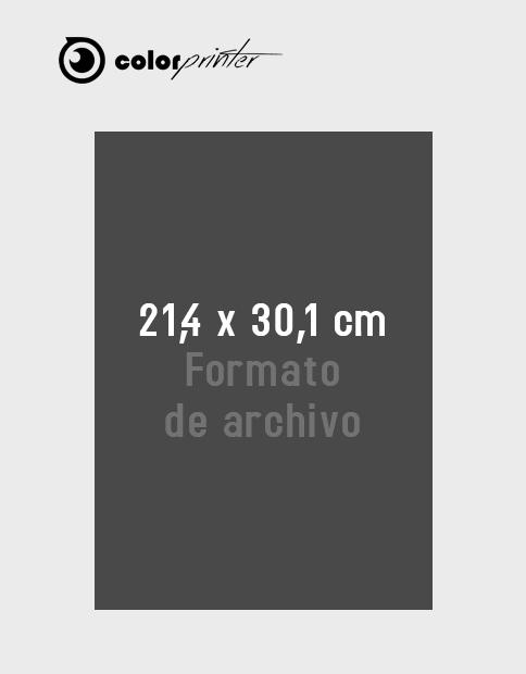 Tamaño de archivo flyer antes de imprimir