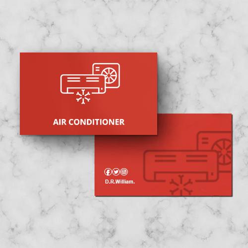 Tarjetas de presentación Aire Acondicionado, Tarjetas Aire Acondicionado