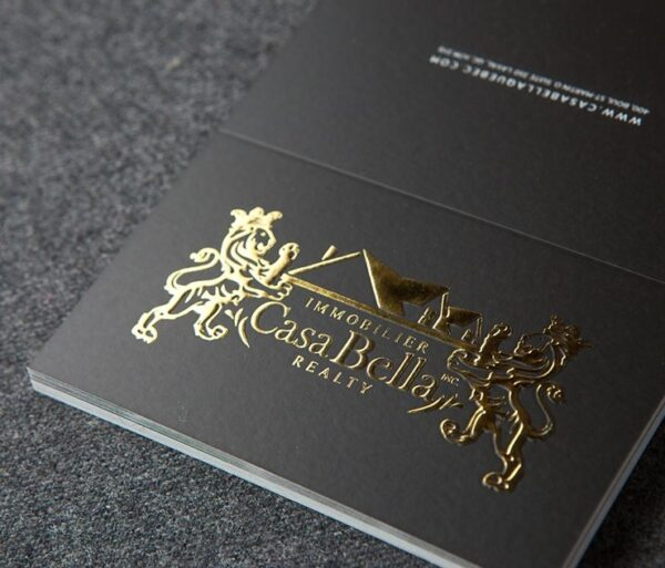 Tarjetas oro líquido metal
