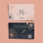 Tarjetas de negocios belleza 3