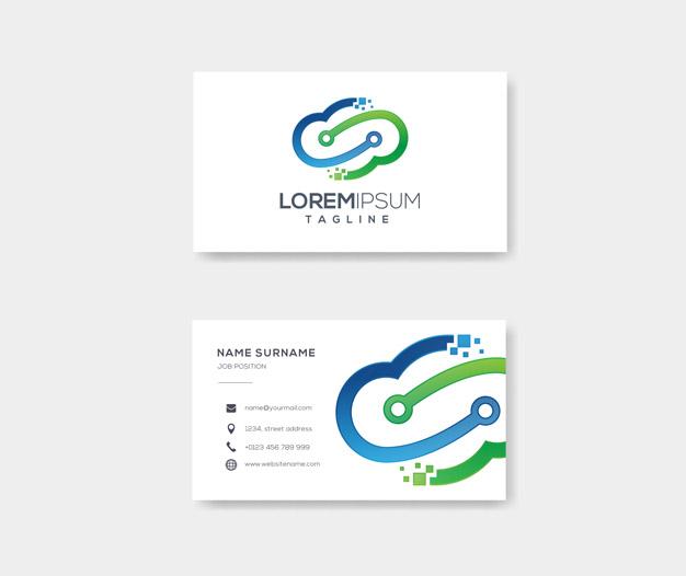 Tarjetas de presentacion informatica