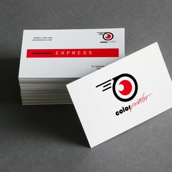 Tarjetas de visita express