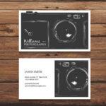 Tarjetas de visita fotografos 1