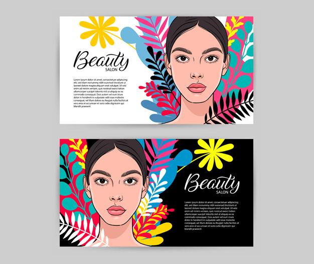 Tarjetas de presentación Belleza, Tarjetas Belleza
