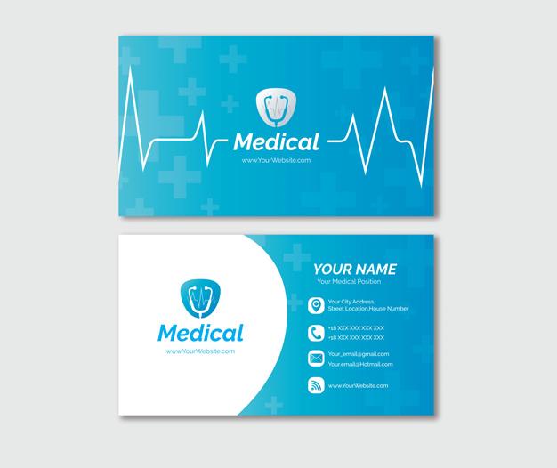 Tarjetas de visita para medicos
