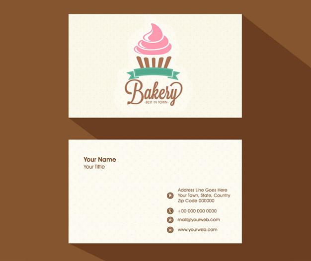 Tarjetas de visita pasteleria