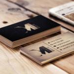 Tarjetas de visita para carpinteros profesionales