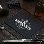 Tarjetas de visita barberia
