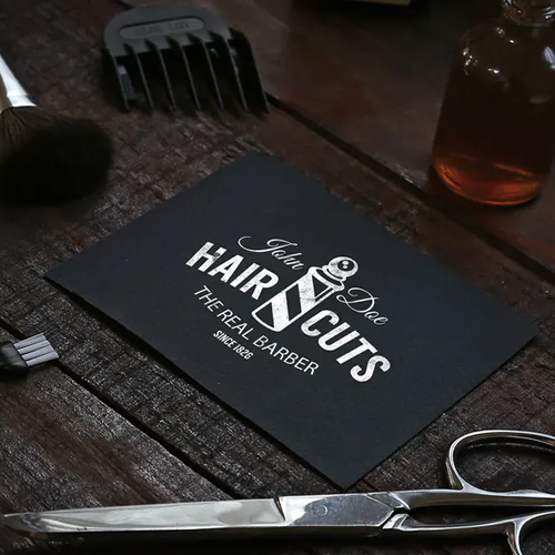Tarjetas de presentación Barbería, Tarjetas Barbería