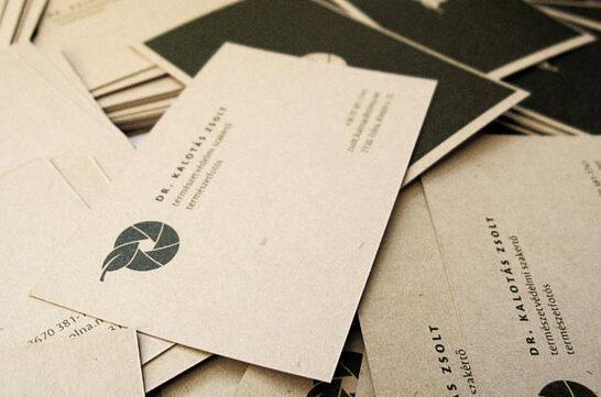 Imprimir Tarjetas recicladas