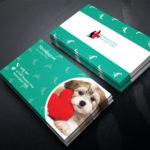 tarjetas de visita veterinaria