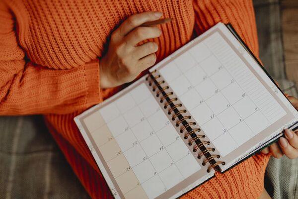 agenda libros planificador empresa
