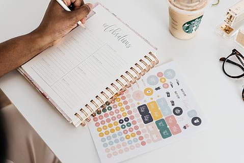 agendas personalizadas y libretas