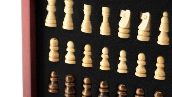 ajedrez madera personalizado publicidad
