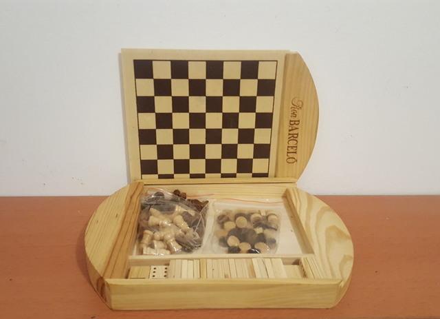 ajedrez publicitario de ron Barceló
