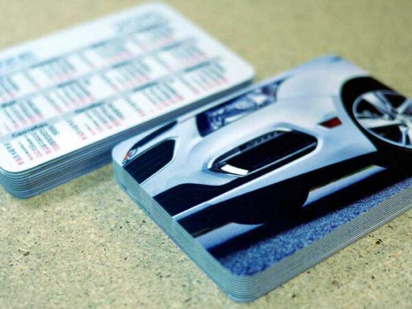Imprimir almanaques de bolsillo personalizables.