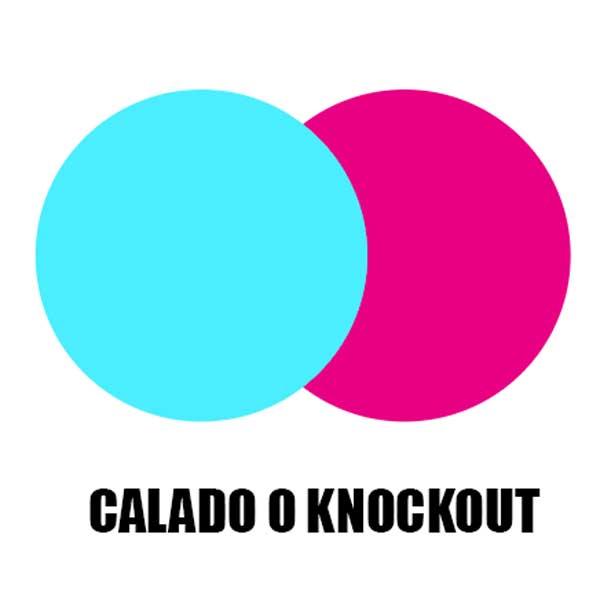 El calado o knockout es lo contrario a la sobreimpresión.