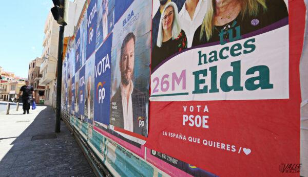 carteles electorales impresos