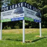 carteles inmobiliarios aluminio impreso