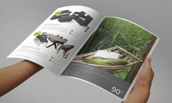Impresión de catálogos grapados de alta calidad para negocios, profesionales y empresas al mejor precio.