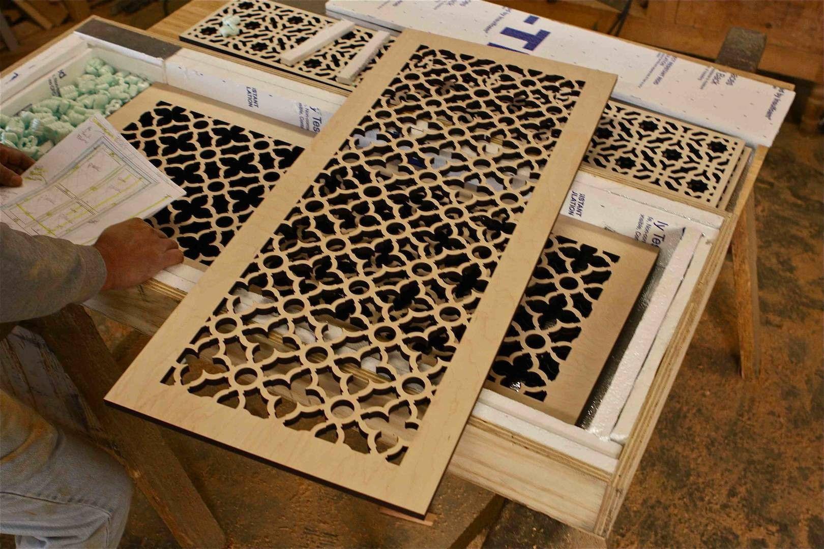 corte laser madera