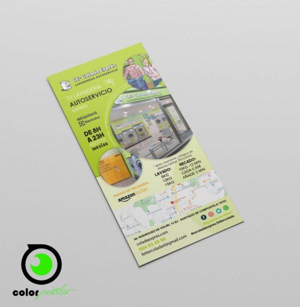 diseño flyers DL