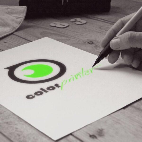 guia de impresión diseño gráfico logotipo