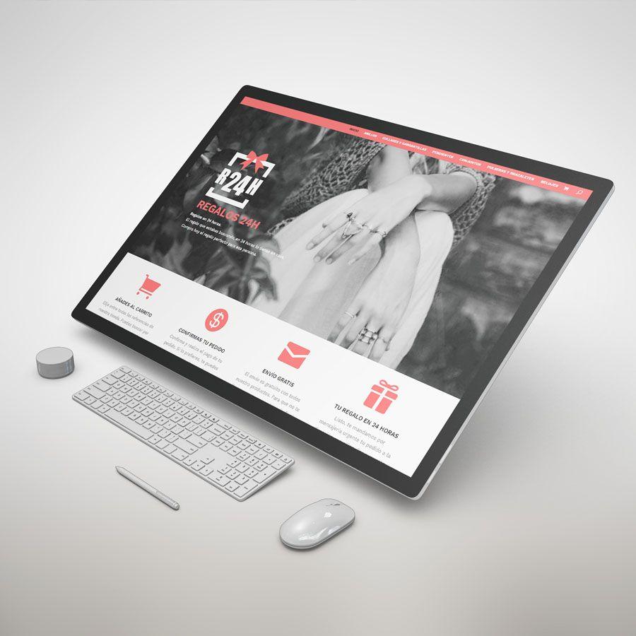 diseño de tiendas online con pasarela de pago y gestión de stock.