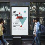 Diseñar un cartel publicitario profesional de alta calidad para empresas y negocios.