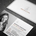 diseño tarjetas visita inmobiliaria