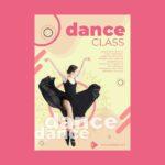 flyers A4 danza