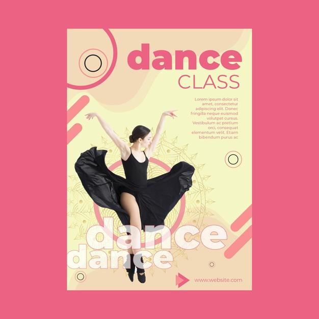 flyers A6 danza
