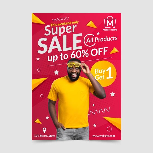 flyers a4 ofertas moda