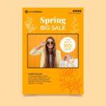 flyers a4 primavera