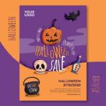 flyers a6 halloween