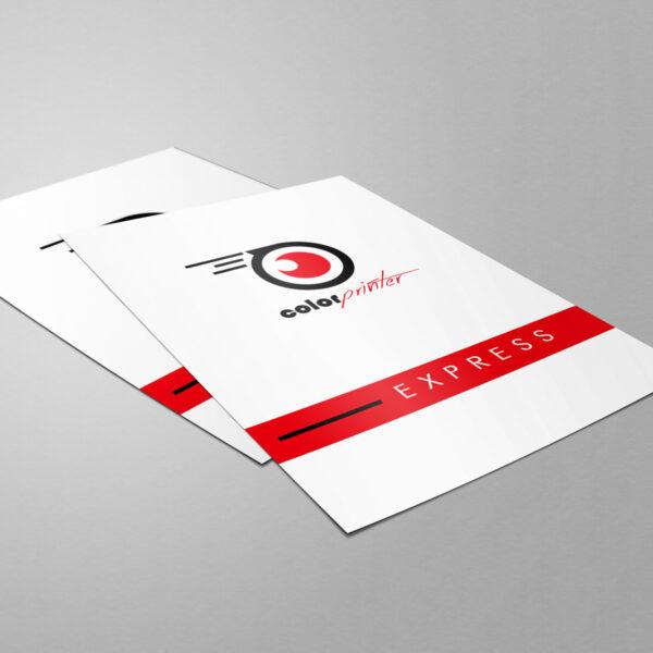 Flyers express. Imprimir flyers con entrega urgente