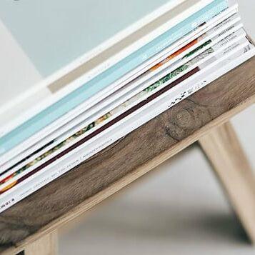 Imprimir catálogos encolados