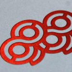 imprenta hot stamping rojo
