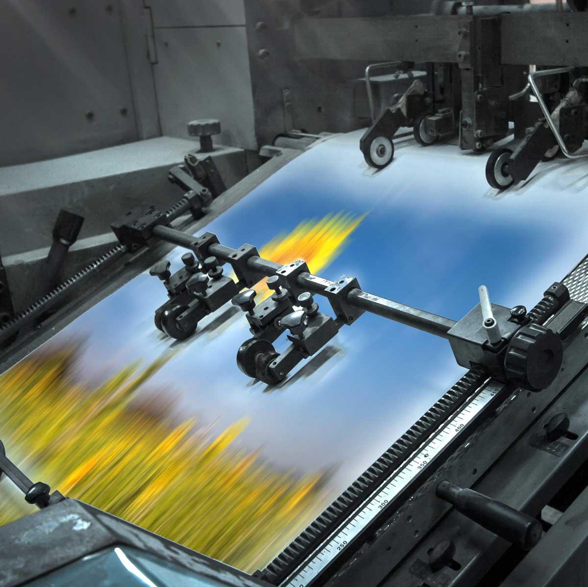 Imprenta de gran formato con productos de alta calidad para empresas y profesionales.