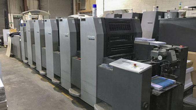 imprenta catálogos maquina