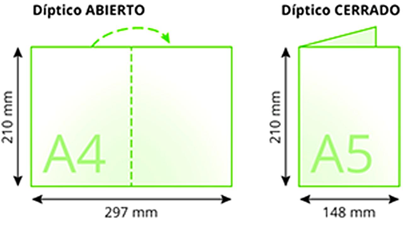 impresión de dípticos reparto